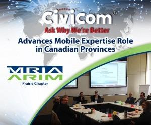 Civicom Advances Mobile Expertise Role in Canadian Provinces