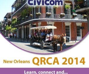 Civicom Brings Insightful Innovation and Spectacular Support to the 2014 QRCA Conference