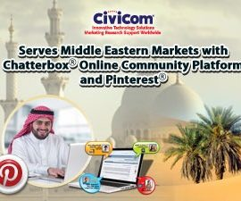 Civicom Serves Middle Eastern Markets with Chatterbox® Online Community Platform and Pinterest®
