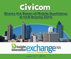 Civicom to Speak at IIeX North America in Atlanta on Understanding Mobile App Usability