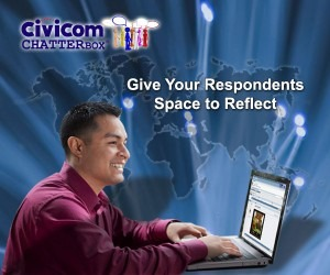 Asynchronous Online Groups Become Successful with Civicom Chatterbox®