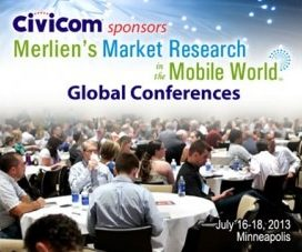 Civicom Sponsors Merlien's Market Research in the Mobile World Global Conferences
