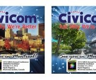 Civicom Exhibits at the 2012 QRCA Conference in Montreal Canada