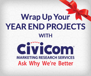 Wrap Up Your Year-End Projects with Civicom Marketing Research Services