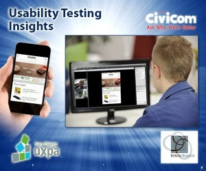 Civicom & BellaVia Research Shows UXPA How to Stay Off Airplanes with Moderated Mobile Usability Research Online