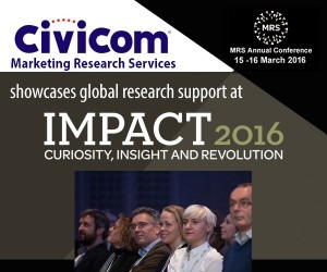 Civicom Marketing Research Services to Showcase at Impact MRS 2016 in UK