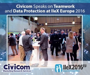 Civicom to Speak on Respondent Data Protection at IIeX Europe