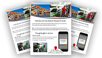 Geolocation used in market research case study