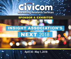 Civicom Sponsors and Exhibits at Insights Association's NEXT 2018 in New York