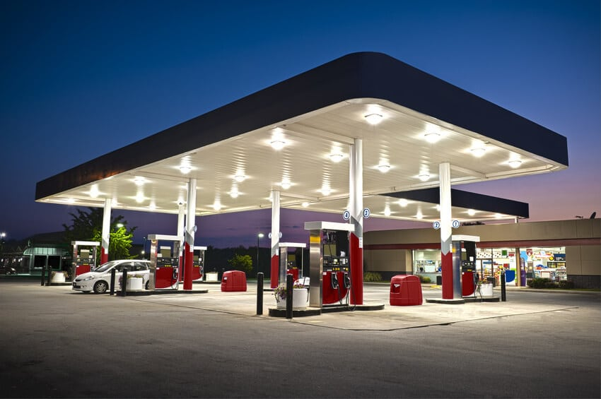Full-service gas station research case study