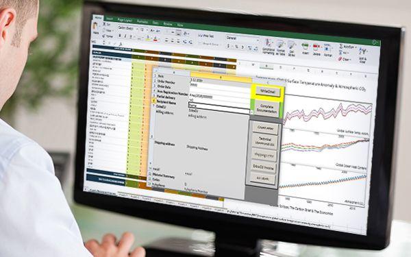 Transcriptionist formatting files to send to market researchers