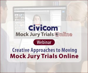 Finding the Right Online Approach For Mock Jury Trials