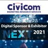 Civicom® Marketing Research Services Digital Sponsor and Exhibitor NEXT 2021