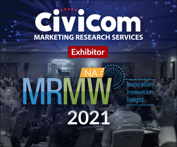 Civicom® Marketing Research Services Exhibitor MRMW NA 2021